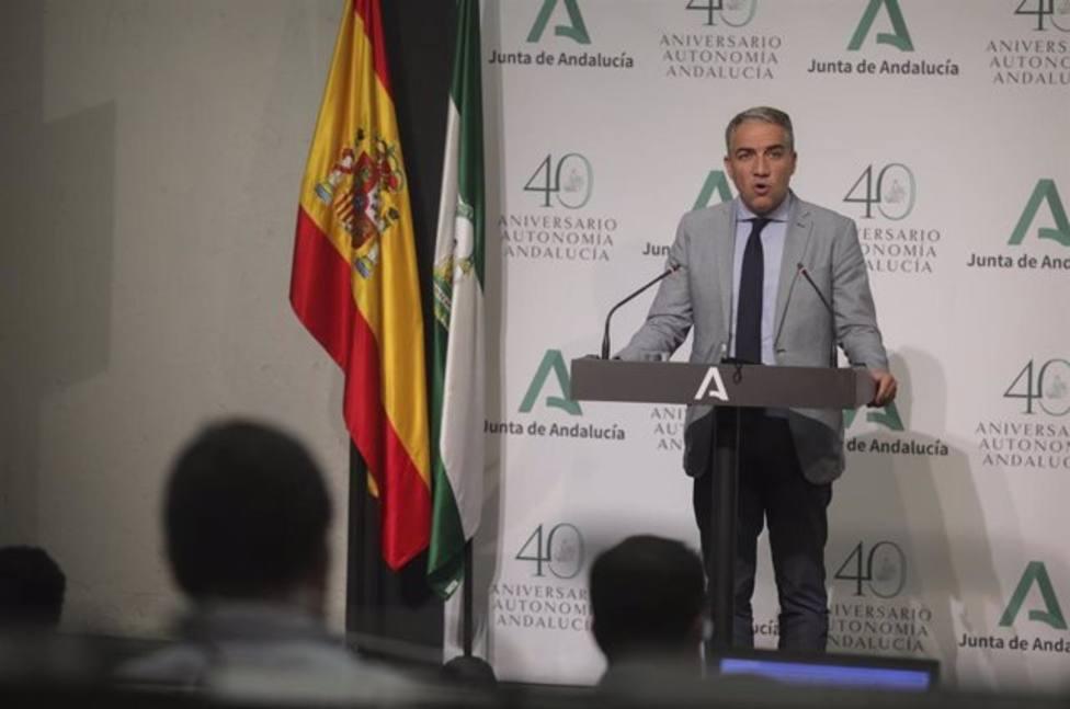 Elias Bendodo, portavoz del Gobierno andaluz anuncia el confinamietno de Ecija