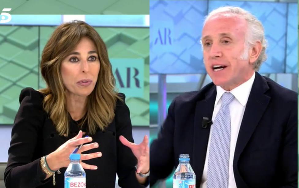 Ana Terradillos y Eduardo Inda (Telecinco)