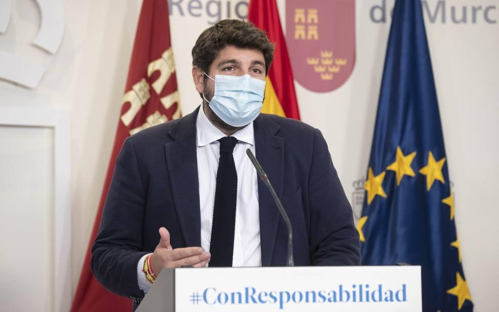 Murcia pide al Gobierno una medida común para todas las comunidades