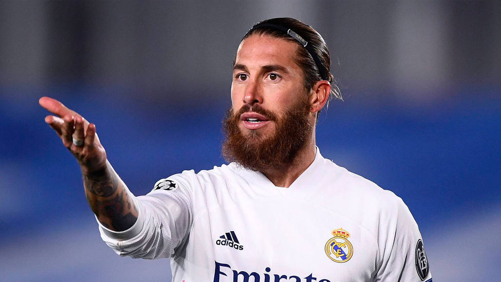 Sergio Ramos, jugador del Real Madrid, en un partido de Liga de Campeones. CORDONPRESS
