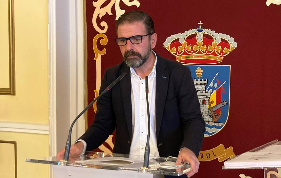 Ángel Mato en la rueda de prensa ofrecida este martes - FOTO: Concello de Ferrol