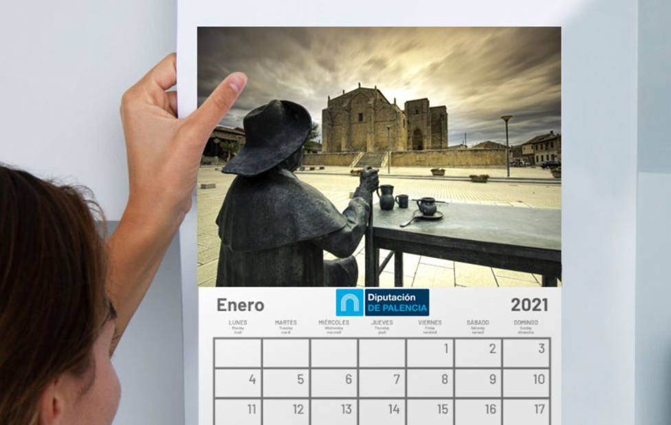 Diputación repartirá sus calendarios de 2021 con la entrada a sus recursos, en la Catedral y la Diez Caneja