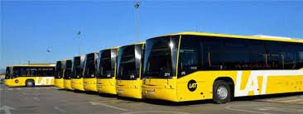 El uso de autobús urbano cae en octubre un 59,3% en la Región de Murcia