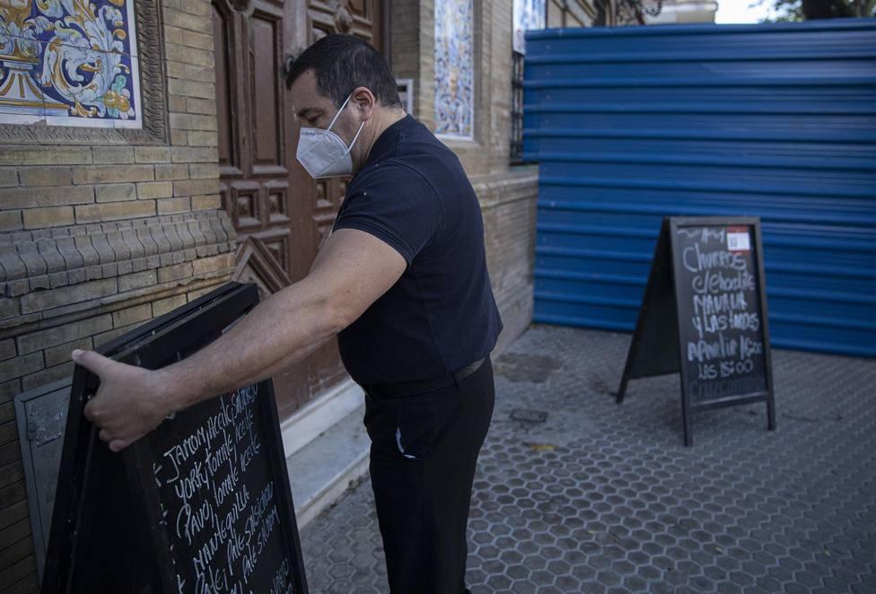 Fotografia de archivo de un bar de Catalunya