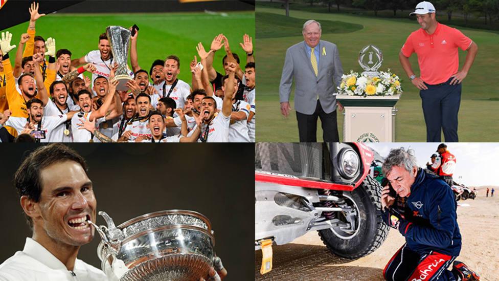 Los mejores momentos del deportes español en el año 2020