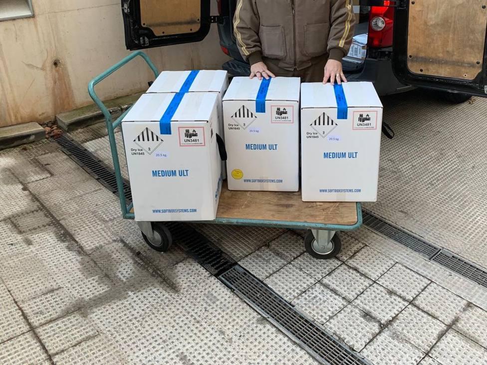 Llegan más vacunas a la Comunidad Valenciana
