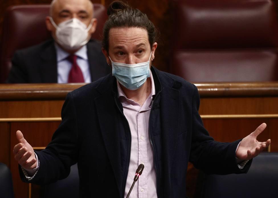 El secretario general de Podemos y vicepresidente segundo del Gobierno, Pablo Iglesias