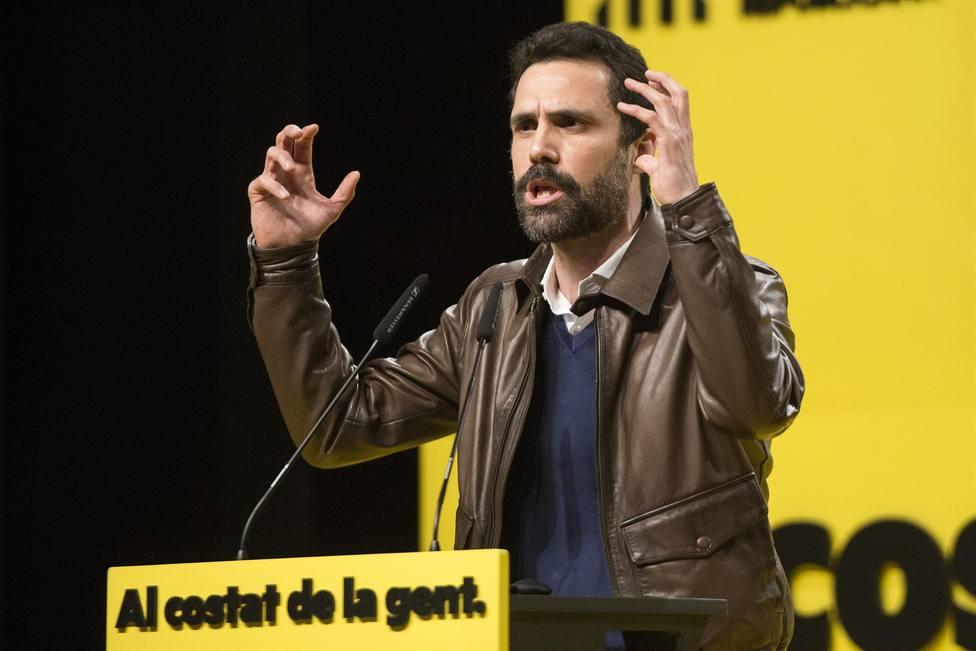 El presidente del Parlament, Roger Torrent - Glòria Sánchez - Europa Press - Archivo