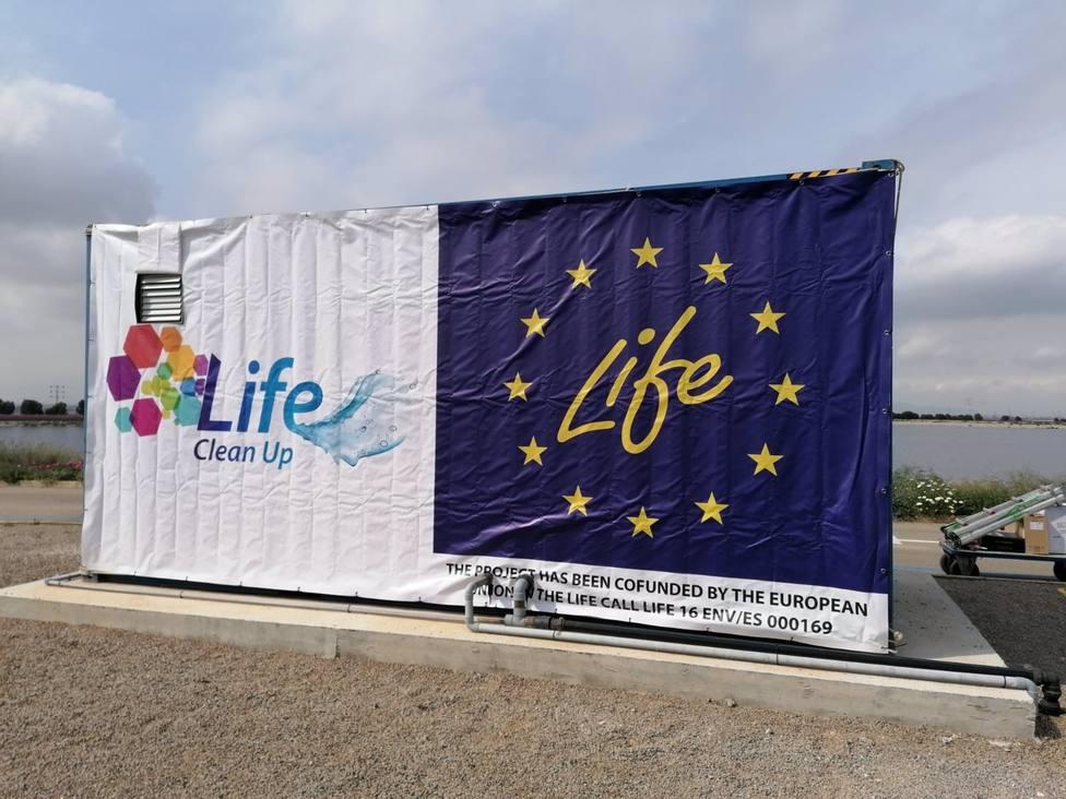 Cartel del proyecto Life Clean Up