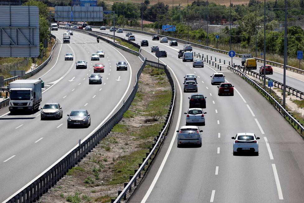 Problemas de tráfico en la vuelta a Madrid por carretera