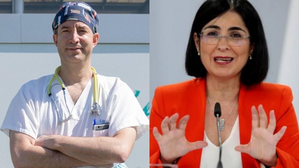 La reprimenda del doctor Carballo a Carolina Darias por su última decisión con la vacunación: Chirría mucho