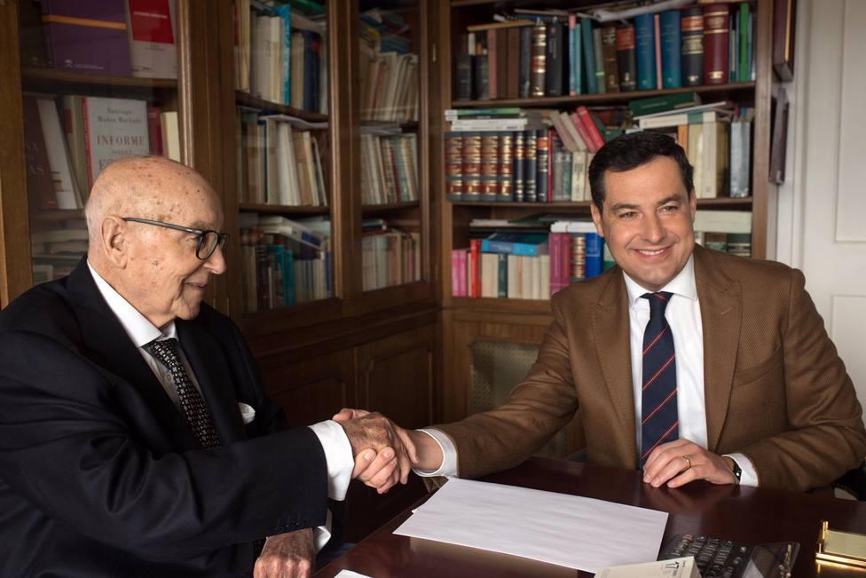 Muere el exministro de la UCD Manuel Clavero Arévalo, Hijo Predilecto de Andalucía