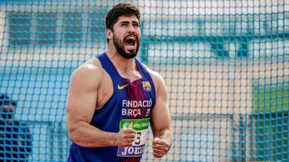 El atleta motrileño Lorenzo Hernández logra el bronce nacional absoluto en lanzamiento de disco