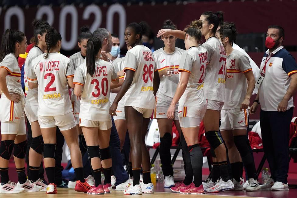 Selección española de balonmano, Guerreras