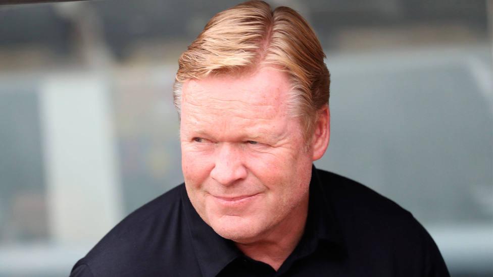 Ronald Koeman, entrenador del Barcelona. CORDONPRESS