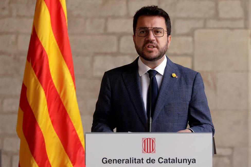 Pere Aragonès insiste en llevar la amnistía y la autodeterminación a la mesa de diálogo