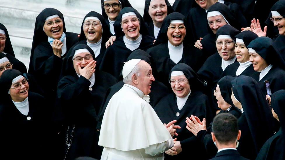 """Las palabras de cariño del Papa a las Ministras de los Enfermos: """" Ejemplo de lo que es servicio hasta el fin"""""""