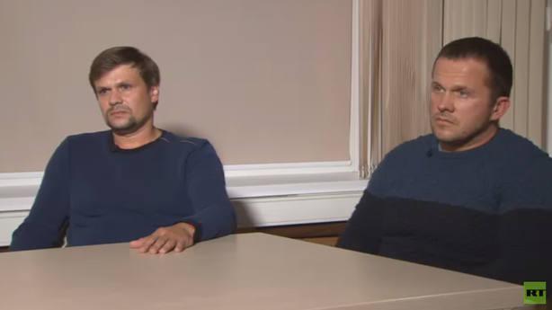 Los dos sospechosos del caso Skripal dicen que fueron a Salisbury de turismo