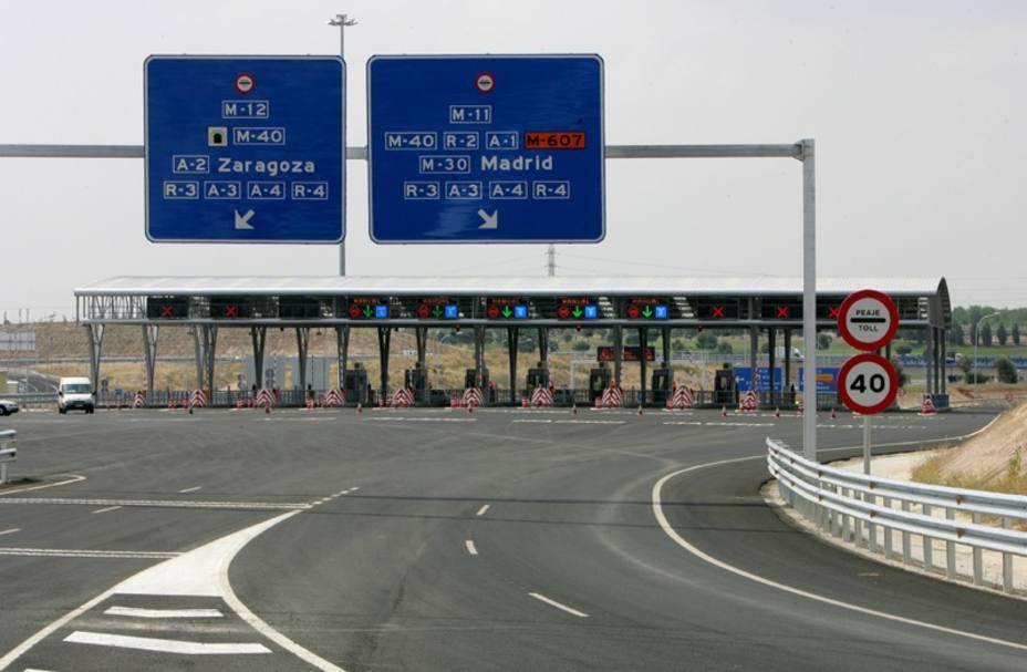 El tráfico de las autopistas se desacelera