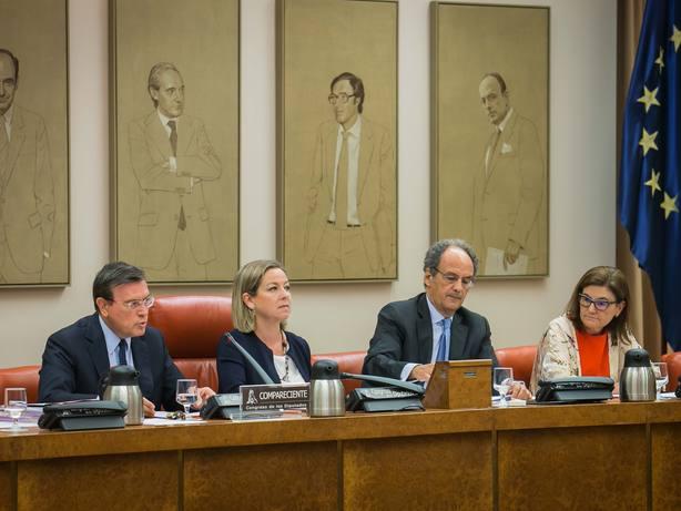 El Congreso aprueba, sin Unidos Podemos ni Cs, el informe sobre su investigación de la crisis financiera
