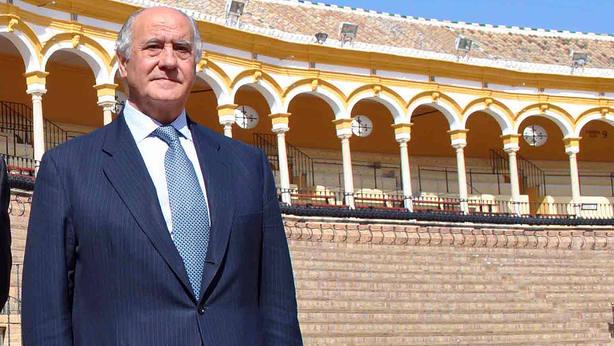 Ramón Valencia, empresario de la Real Maestranza de Caballería de Sevilla