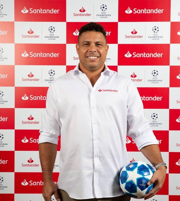 Ronaldo Nazario: Jugar la final en el Bernabéu es una muy buena solución