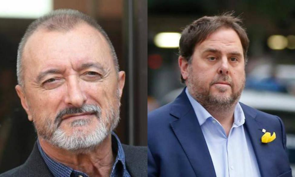 Pérez-Reverte arremete contra Junqueras por esta reflexión en el juicio del procéss