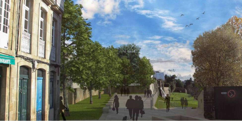 Recreación de la reforma de la Plaza del Matadero