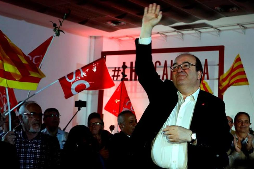 """Iceta abre la puerta a buscar """"mecanismos"""" si el 65% de Cataluña quiere la independencia"""