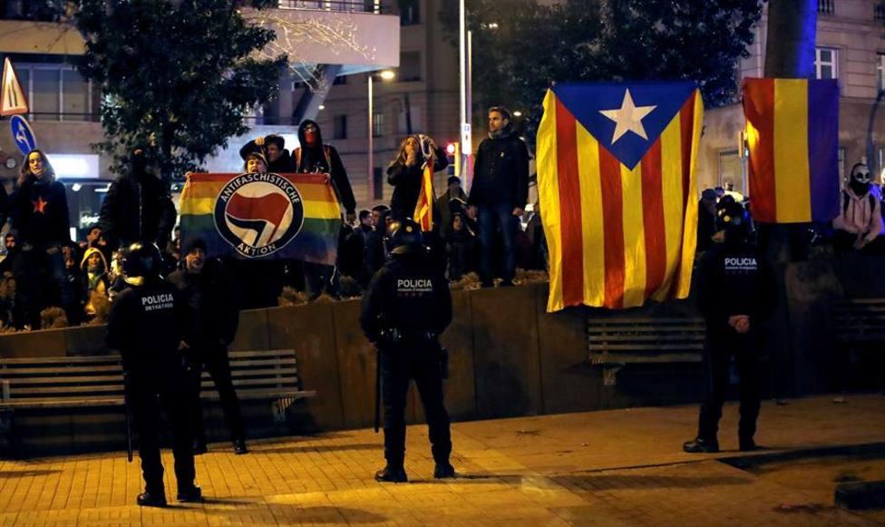 Así ha sido el acoso del independentismo a simpatizantes de Vox en Barcelona