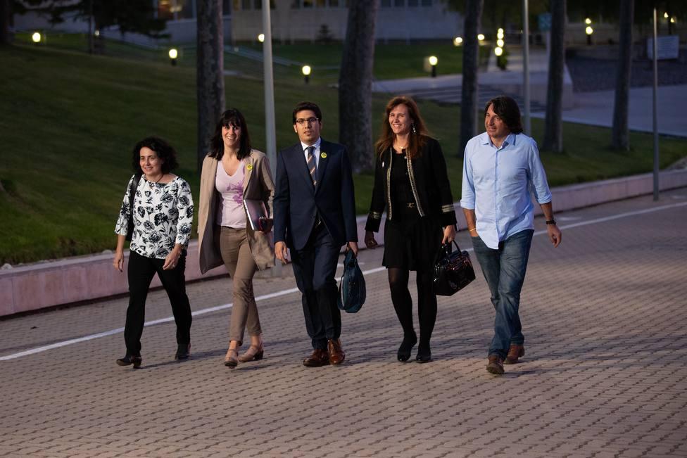 26M.- JxCat abandona el debate de TV3 en rechazo a que la JEC excluya a Comín y Junqueras