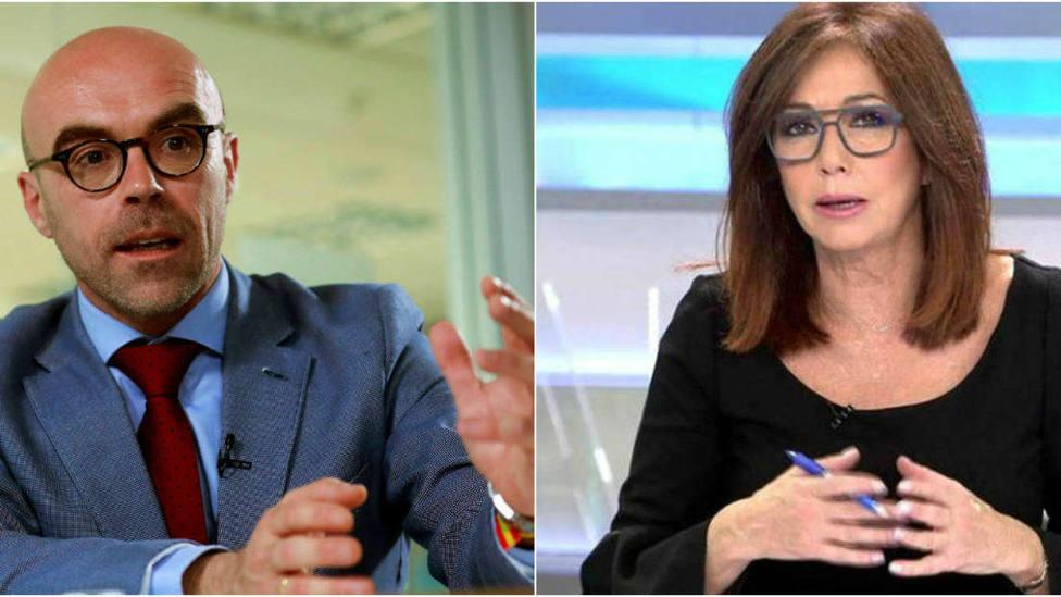 La inesperada respuesta de Ana Rosa al candidato de VOX que llamó feas a las feministas