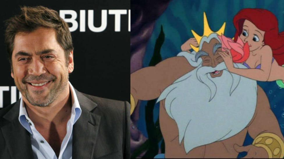 Javier Bardem negocia interpretar al padre de Ariel en La sirenita