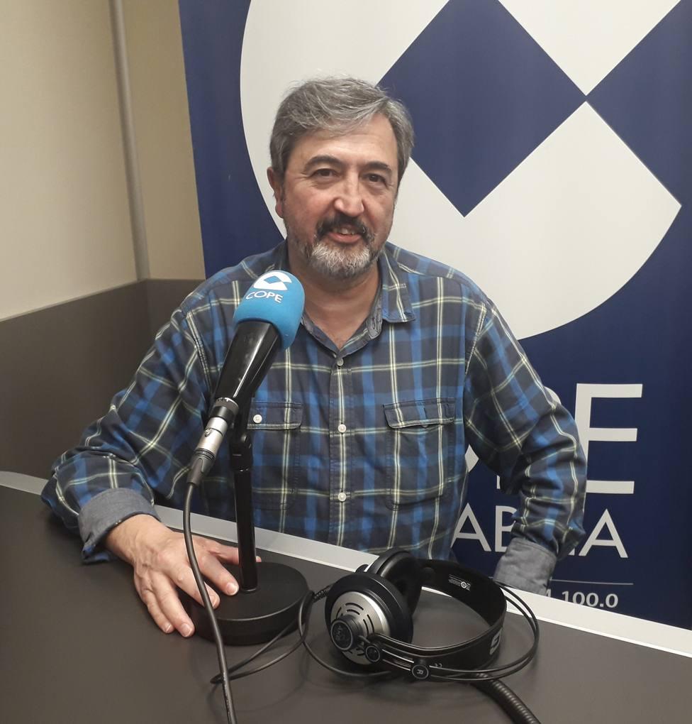 El naturalista de Cope Cantabria Jesús García, en nuestros estudios