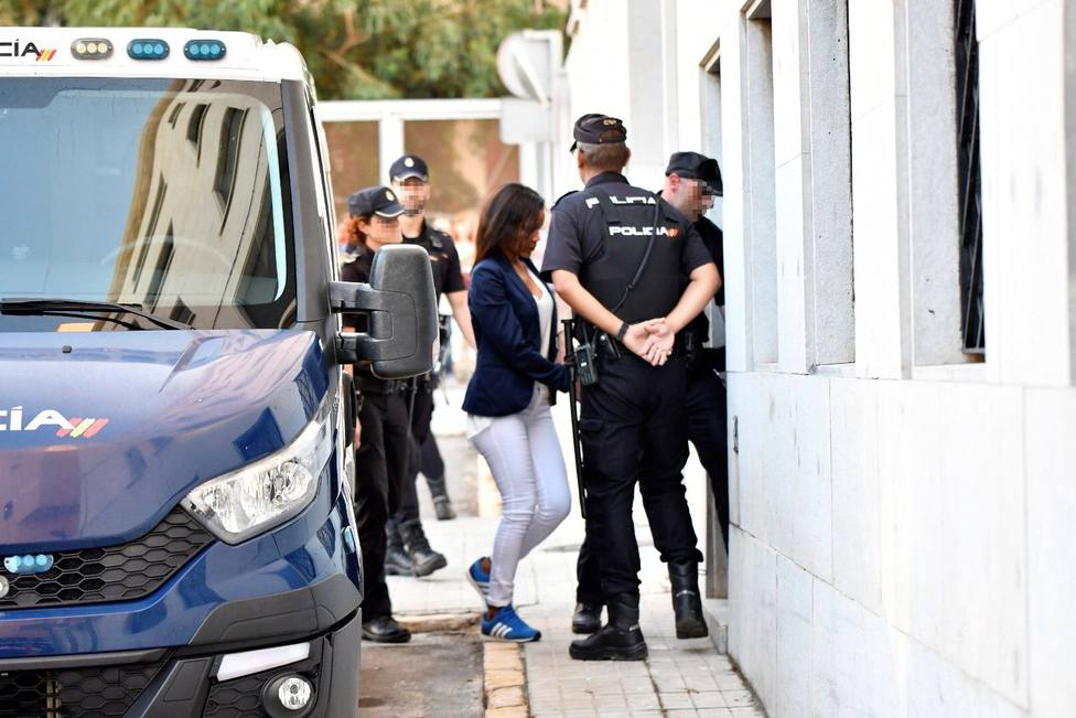 Ana Julia Quezada llega a Audiencia de Almería para ser juzgada por asesinato