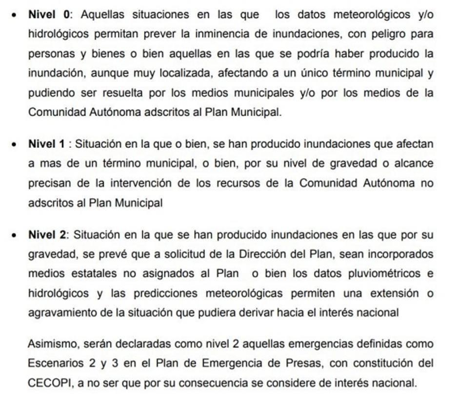 La dirección del Plan Inunmur activa el nivel 2 y pide la presencia de la Unidad Militar de Emergencias