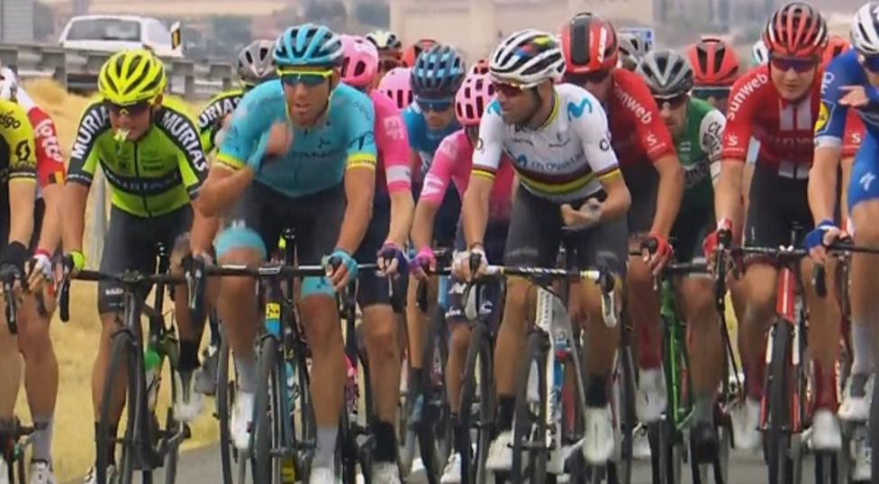 El campeón del mundo sigue en la pelea por la Vuelta