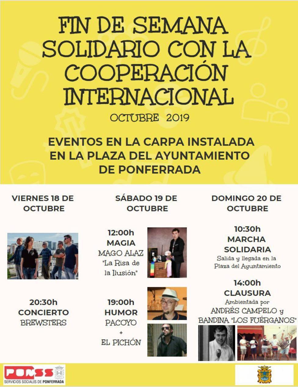 ctv-fht-cartel-fin-de-semana-solidario-con-la-cooperacin-internacional