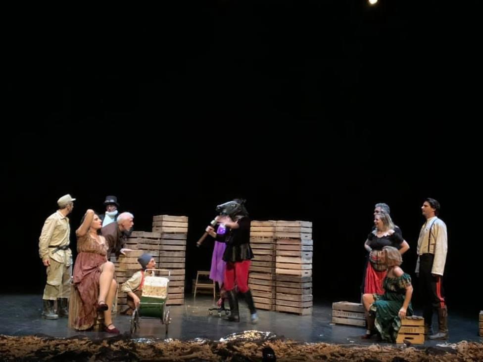 Woyzeck sube el telón del Certamen Nacional de Teatro Aficionado Paco Rabal