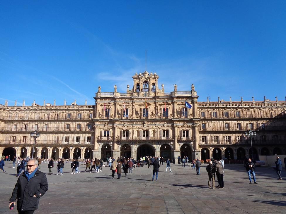 Foto fachada del Ayuntamiento de Salamanca
