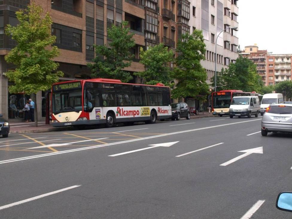 Agreden sexualmente a una menor en una parada de autobus de Logroño