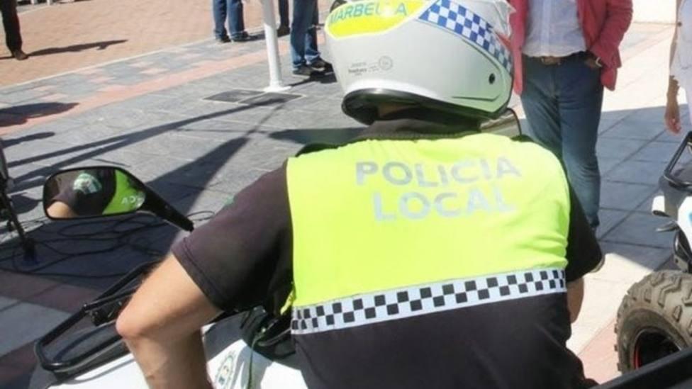 Espectacular persecución policial a pie en Marbella con peligrosos disparos incluidos