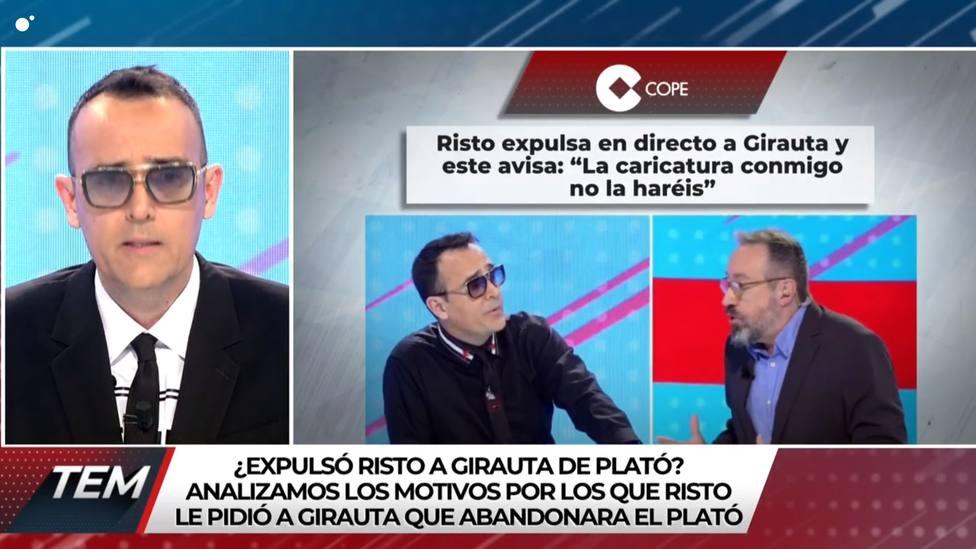 Risto pide perdón a Girauta por echarle de su programa: No me siento orgulloso