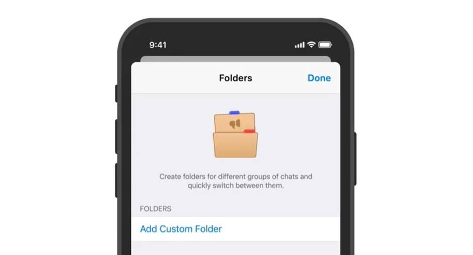 Telegram se actualiza con carpetas para archivar los chats y estadísticas para los canales