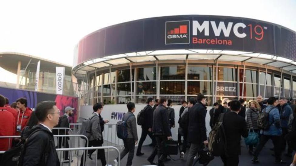 Mobile World Congress en la Fira de Barcelona