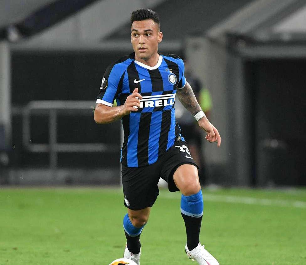 EL INTER MAILAND - BAYER 04 LEVERKUSEN Lautaro Martinez (Inter Mailand) 10.08.2020, Fussball, UEFA Europa League, Saiso