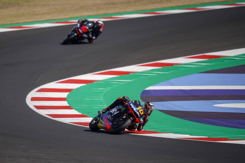 Luca Marini consigue su primera pole del campeonato en Moto 2