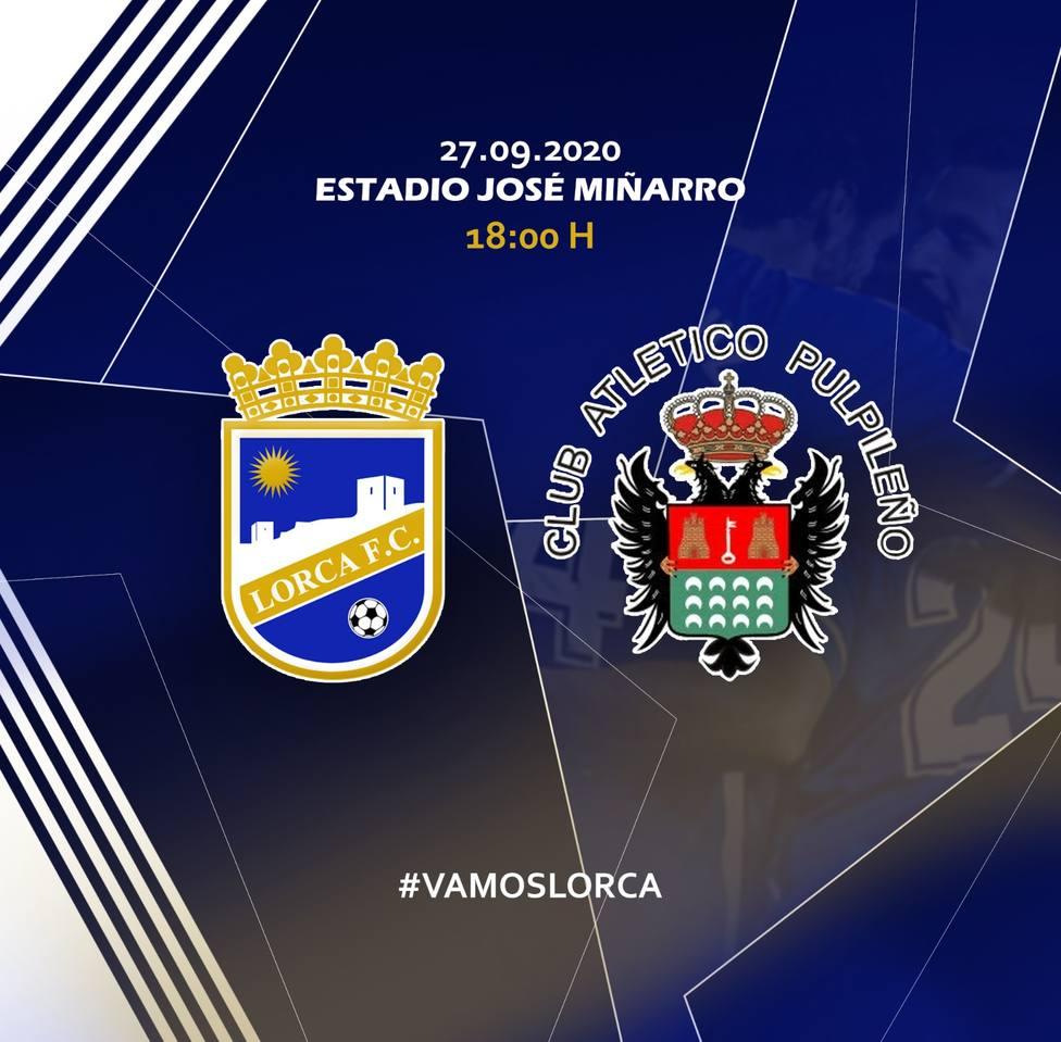 El Lorca FC jugará mañana ante el Atlético Pulpileño en el José Miñarro