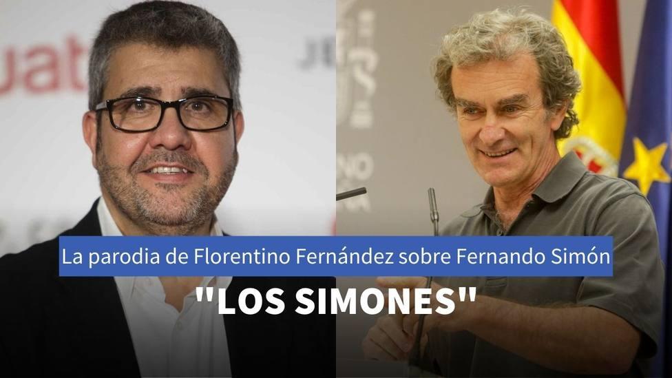 La parodia de Florentino Fernández sobre Fernando Simón que ha terminado en un grupo de música