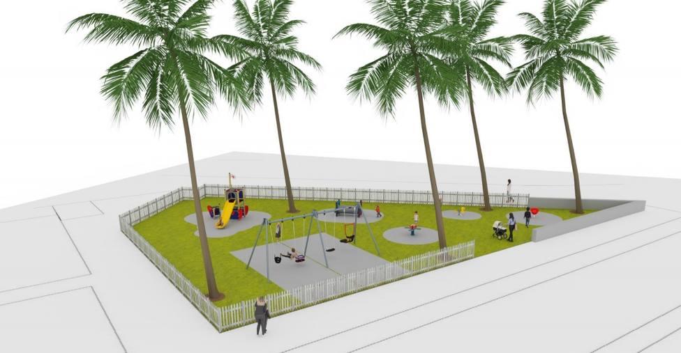 El Ayuntamiento renovará el parque infantil de Bellavista